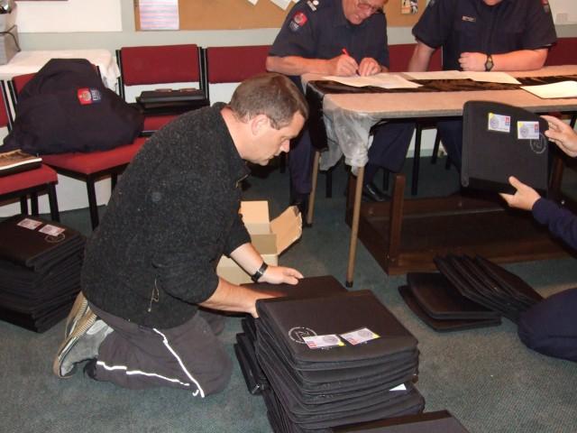 Preparing registration packs