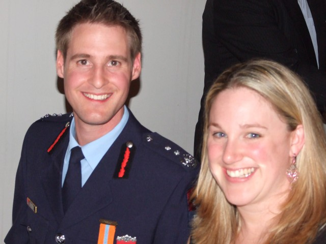 CFO Carl Mills and Jasmine.