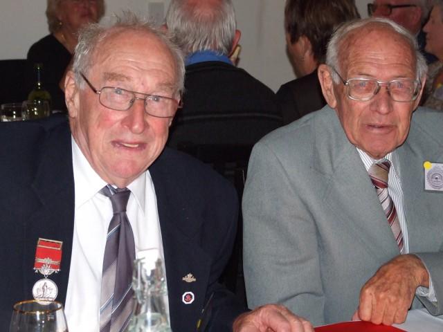 Jim Gyton and Chief Wick Barlow