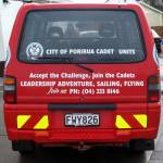 Highlight for Album: After aquiring a new Logistical Support vehicle, PVFB donated our old van to the Porirua RSA for use by Cadet Corps