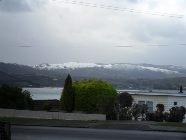 Over the inlet to Pauatahanui from Mana View Rd and Walker Ave