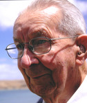 The second Superintendent, Charles Bertram (Bert) Bailey, 1941-42. Photographed at 95 years old in 2007.