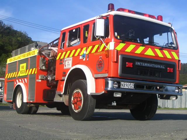 1988 International, served Plimmerton from 1992 through 2010, a sizeable portion of the brigade's 76 years to that date.