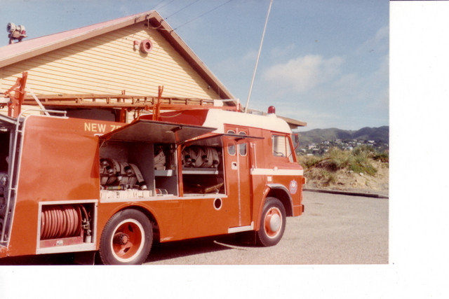 Ford D600, ex Fire Service Training College