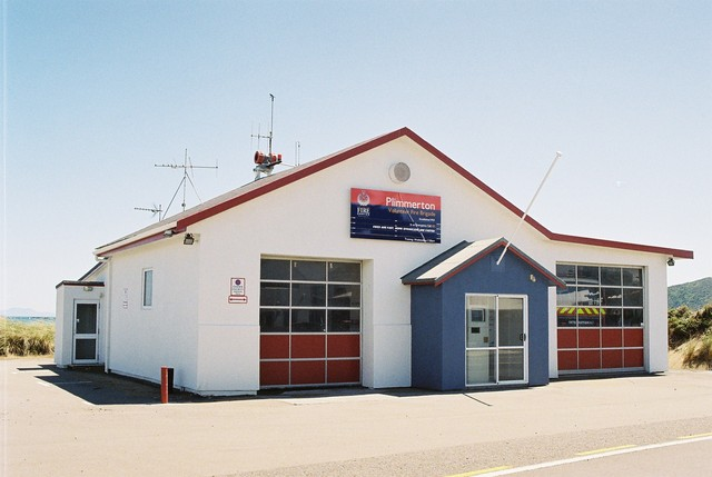 Plimmerton Fire Station in its new livery