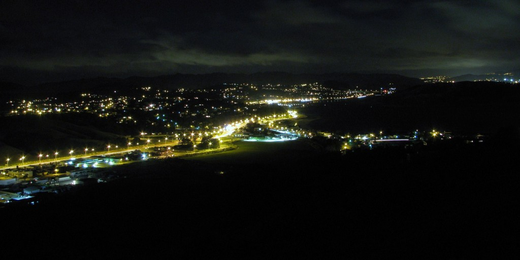 Camborne by night