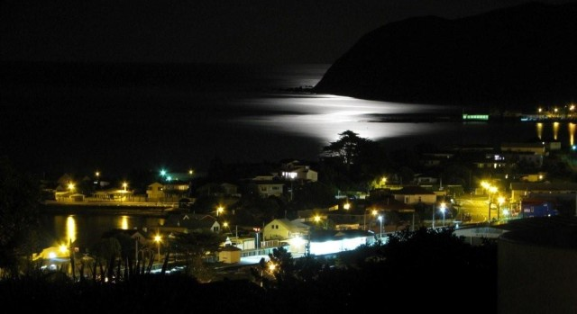Plimmerton by night